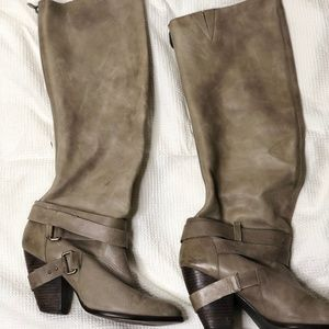 Fergie Legend Too Distressed Leather Boot